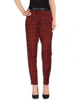 Повседневные брюки COSTUME NEMUTSO. Цвет: кирпично-красный