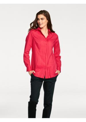 Удлиненная блузка PATRIZIA DINI by Heine. Цвет: красный