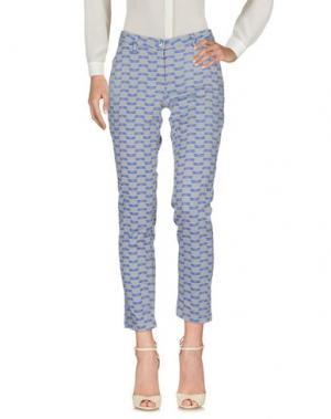 Повседневные брюки SHAFT DELUXE. Цвет: серый