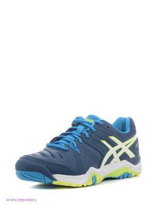 Спортивная обувь GEL-CHALLENGER 10 ASICS. Цвет: синий, желтый, белый