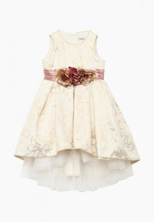 Платье MiLi. Цвет: золотой
