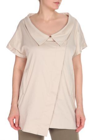 Рубашка GF FERRE. Цвет: бежевый