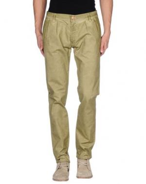 Повседневные брюки MINIMAL. Цвет: кислотно-зеленый