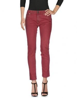 Джинсовые брюки SHIELD. Цвет: пурпурный