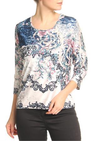 Блузка Elisa Fanti. Цвет: розовый