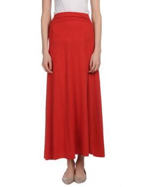 Длинная юбка LABO.ART. Цвет: красный