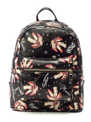 Рюкзак AnnA Wolf. Цвет: черный, бежевый, красный