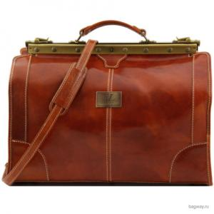 Travel Madrid TL1023 (TL1023-Мед) Tuscany Leather. Цвет: оранжевый