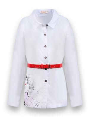 Рубашка De Salitto. Цвет: белый
