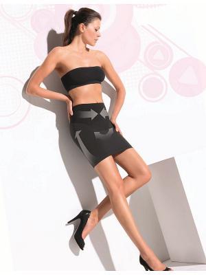 Моделирующая нижняя юбка Controlbody. Цвет: черный