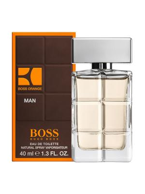 Туалетная вода hugo boss orange man 40 мл. Цвет: темно-коричневый, антрацитовый