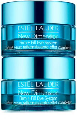 Система ухода для укрепления кожи вокруг глаз New Dimension Estée Lauder. Цвет: бесцветный