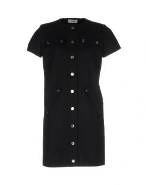 Короткое платье COURRÈGES. Цвет: темно-синий