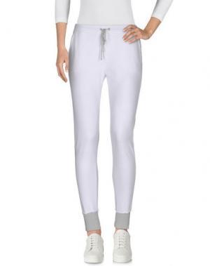 Повседневные брюки KANGRA CASHMERE. Цвет: белый