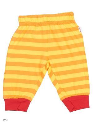 Брюки WonderKids. Цвет: желтый