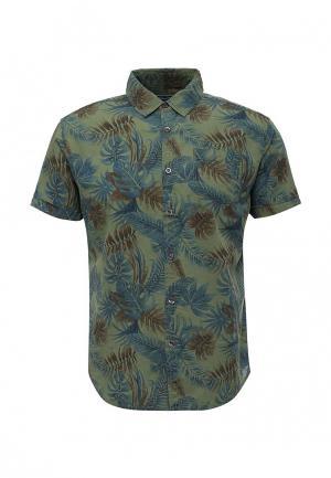 Рубашка Fresh Brand. Цвет: хаки