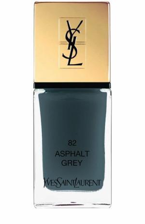 Лак для ногтей La Laque Couture, оттенок 82 YSL. Цвет: бесцветный