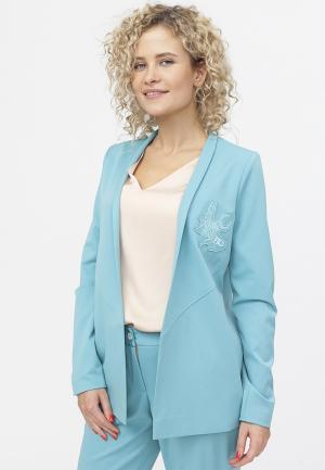 Жакет TzeTze. Цвет: голубой