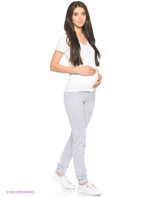 Брюки для беременных Hunny Mammy. Цвет: серый
