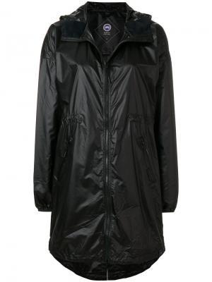 Rosewell hooded shell jacket Canada Goose. Цвет: чёрный