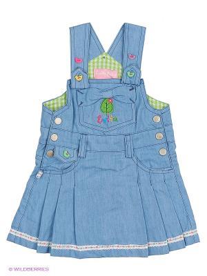 Сарафан Evita Baby. Цвет: светло-голубой