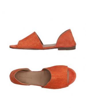 Сандалии KUDETÀ. Цвет: оранжевый