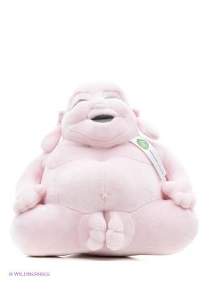 Игрушка Будда маленькая Huggy Buddha. Цвет: розовый
