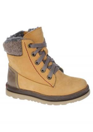 Ботинки Котофей. Цвет: желтый (желтый)