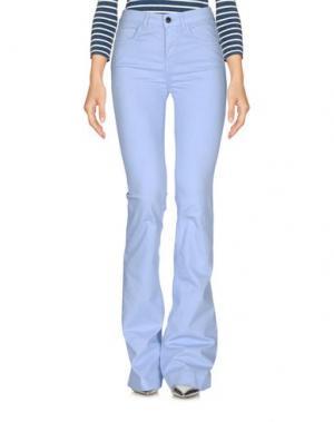 Джинсовые брюки KAOS JEANS. Цвет: небесно-голубой