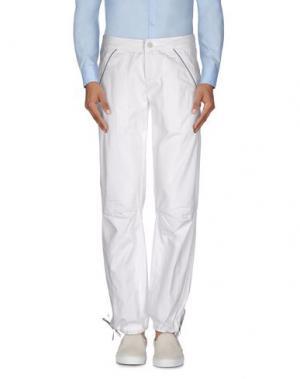 Повседневные брюки MURPHY & NYE. Цвет: белый