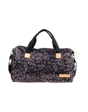 Дорожная сумка EASTPAK. Цвет: стальной серый