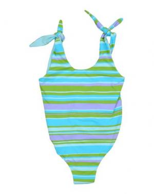 Слитный купальник FISICHINO. Цвет: небесно-голубой