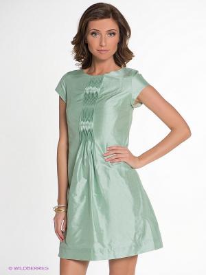 Платье IMAGO. Цвет: светло-зеленый