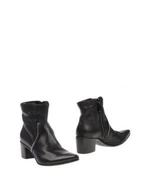 Полусапоги и высокие ботинки MANILA GRACE. Цвет: черный