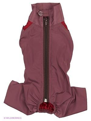 Комбинезон холодный на шелке (Чихуахуа) ТУЗИК. Цвет: бордовый