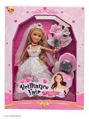 Кукла Funville. Цвет: розовый, белый