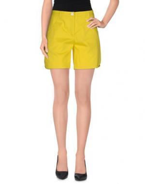 Повседневные шорты AIMO RICHLY. Цвет: желтый