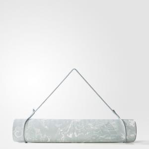 Коврик для йоги Camo  Performance adidas. Цвет: белый