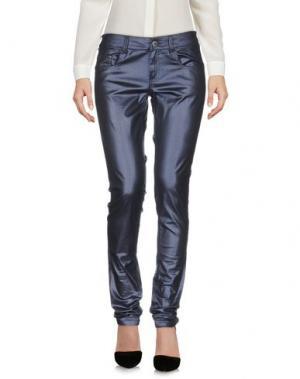 Повседневные брюки COSTUME NEMUTSO. Цвет: грифельно-синий
