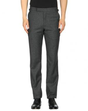 Повседневные брюки RICHARD JAMES. Цвет: стальной серый