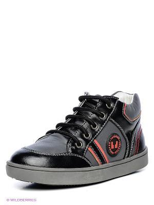 Ботинки ТОПОТАМ. Цвет: черный