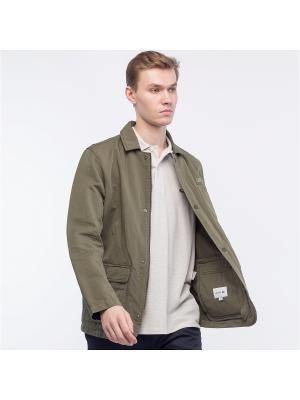 Куртка Lacoste. Цвет: зеленый