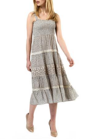 Платье Jones. Цвет: серый