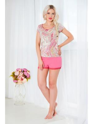 Пижама Mia Cara. Цвет: лиловый, фуксия, розовый