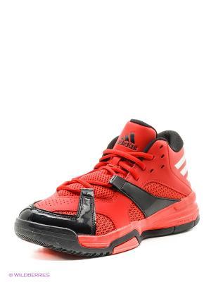 Кроссовки First Step Adidas. Цвет: красный