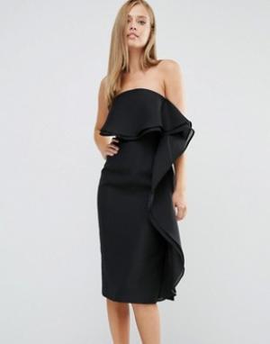 Keepsake Платье Small Talk. Цвет: черный