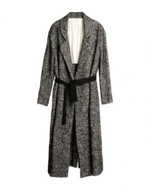 Легкое пальто POMANDÈRE. Цвет: черный