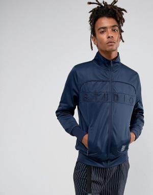 Cayler & Sons Темно-синяя спортивная куртка. Цвет: темно-синий