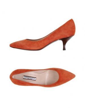 Туфли GUGLIELMO ROTTA. Цвет: ржаво-коричневый