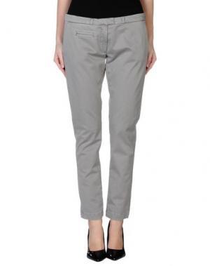 Повседневные брюки SOALLURE. Цвет: серый